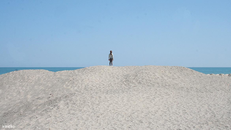 playa del Saler en Valencia