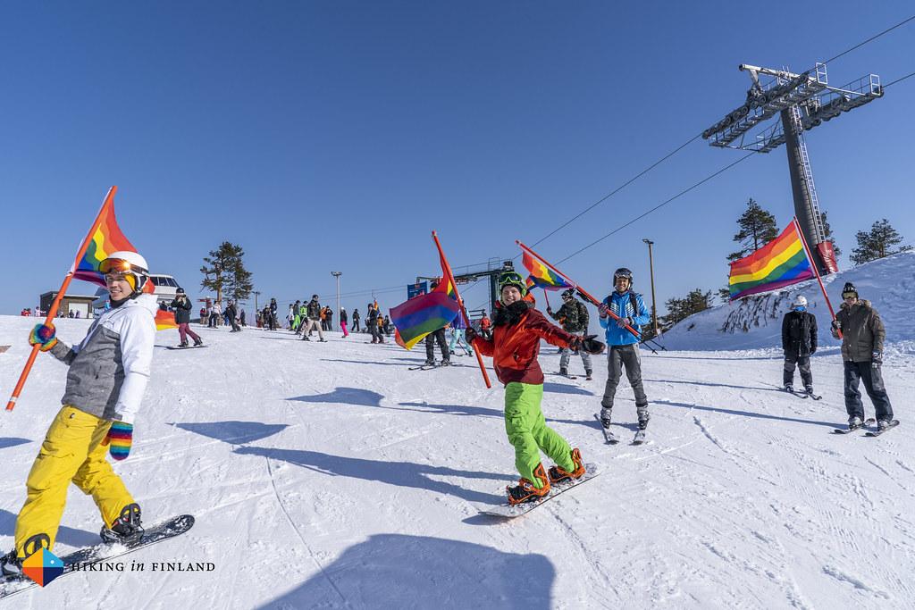 Ruka Ski Pride Parade 2019