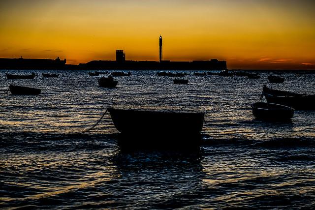 Entre barcas