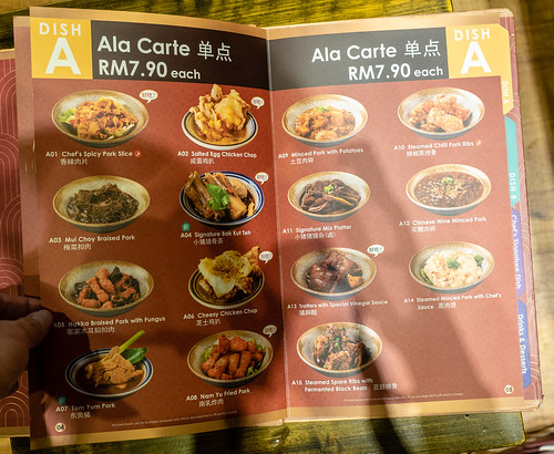 House of Pok (小猪猪) Dish A menu which consists of delicious pork and chicken dishes. | by huislaw