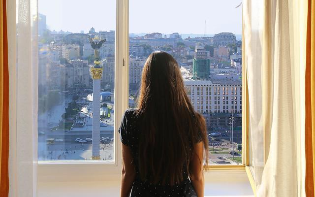A great morning in Kiev