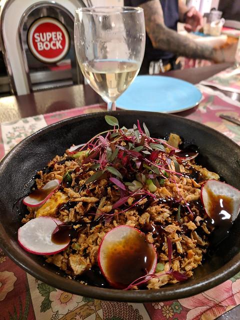 wild rice w/ veggies and soy glaze @ Tapabento S.Bento