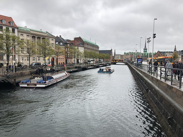 Canal from Højbro bridge
