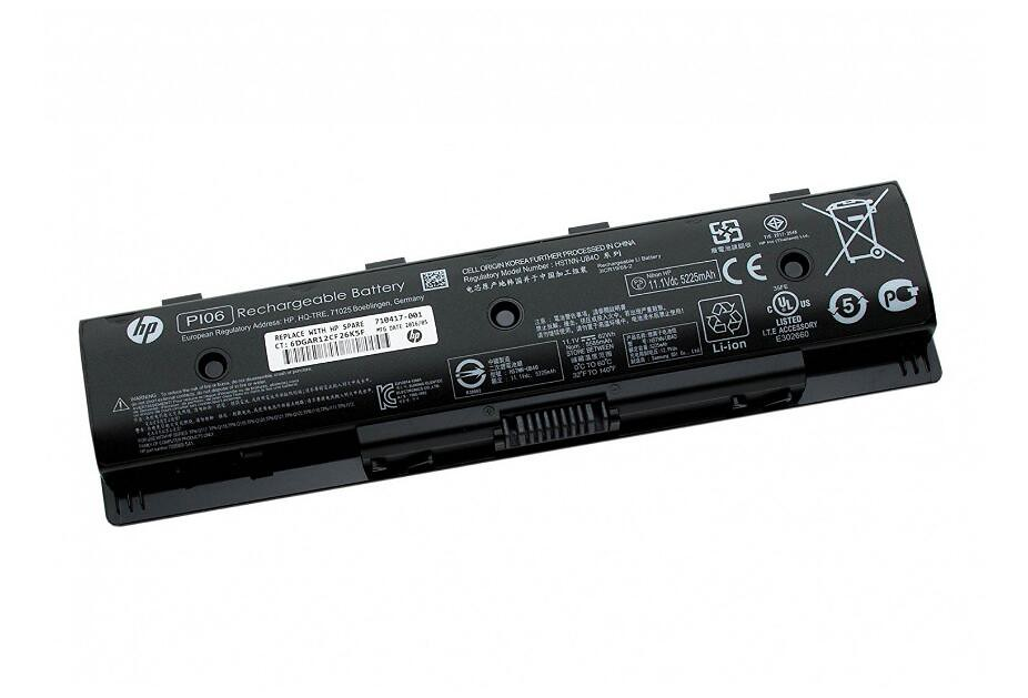 Original Batería PI06 Notebook Battery HP 47Wh