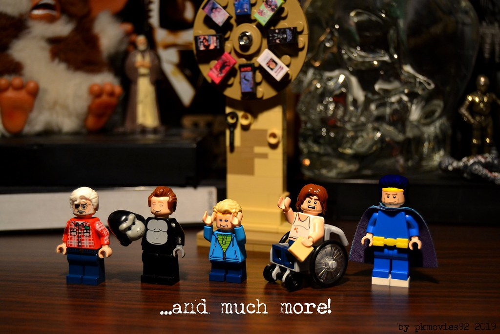 LEGO George Lucas, Gorilla Rich, Macaulay Culkin, Mr Plinkett and Rem Lezar