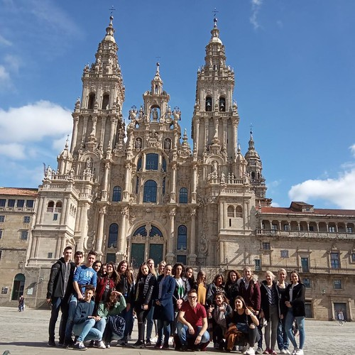 Gruppe in Santiago