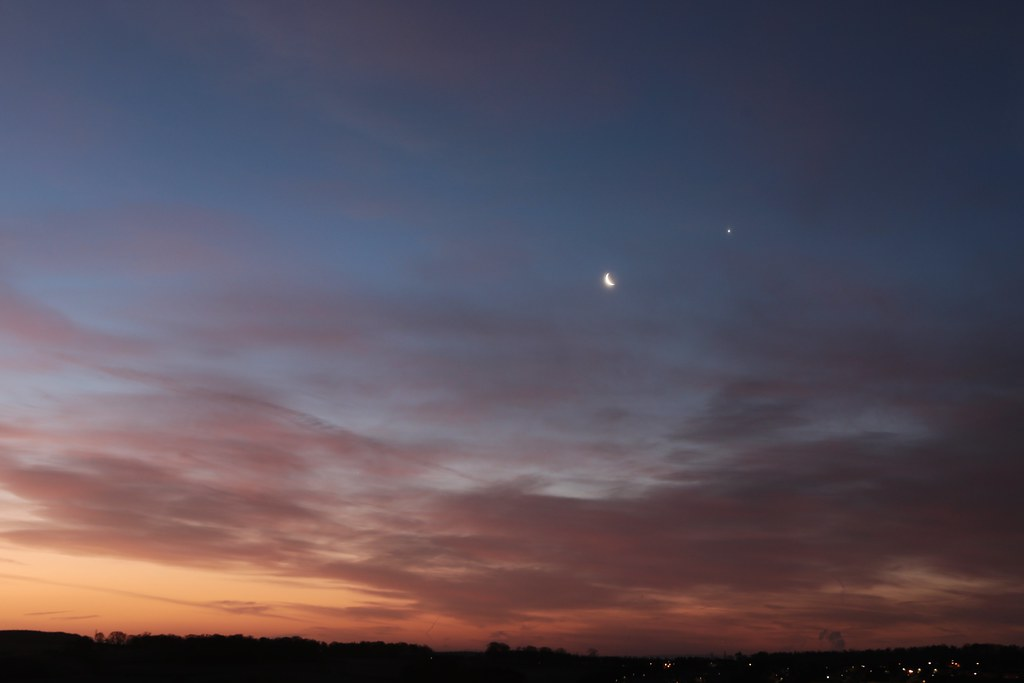 Moon and Venus - 2nd Jan 2018