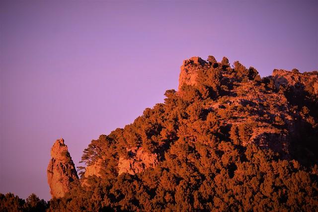 Rocks behind Port de Sóller