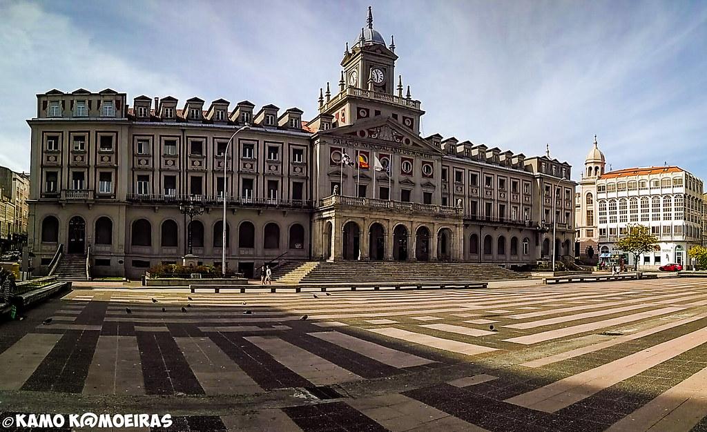 plaza ayuntamiento , El Ferrol