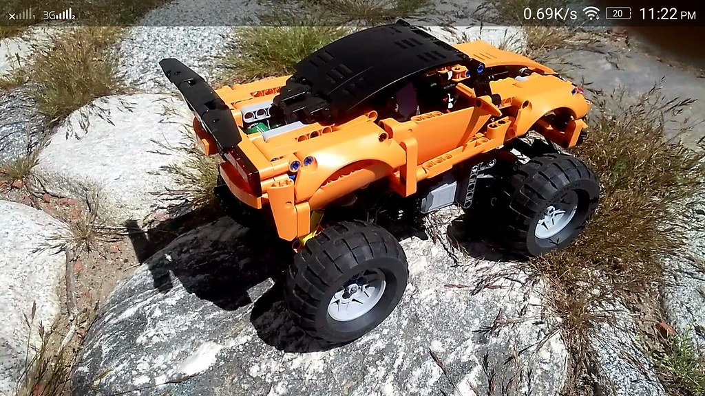 Lego technic 42093 4x4 mod w 81.6mm tires
