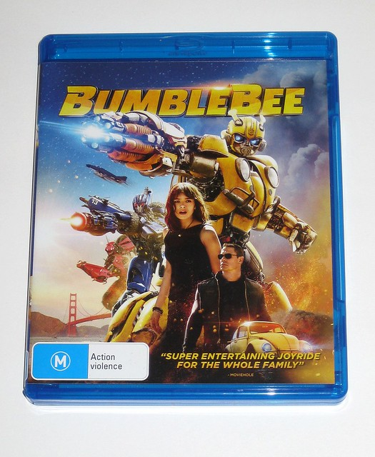 transformers bumblebee the movie 2018 blu-ray disc australia 2019 a