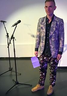 Steven Fowler @European Poetry Festival 060419 | by Sounds Right R Goldsmith A Blasiak M Easterman