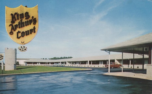 King Arthur's Court & Round Table Restaurant - Greeneville, Tennessee | by The Cardboard America Archives
