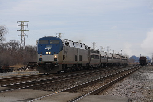 Amtrak Lake Shore Limited - Whiting, IN | by tcamp7837