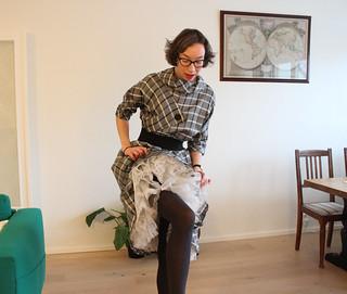 Turtle dress / etdrysskanel.com   by Synne Cinnamon