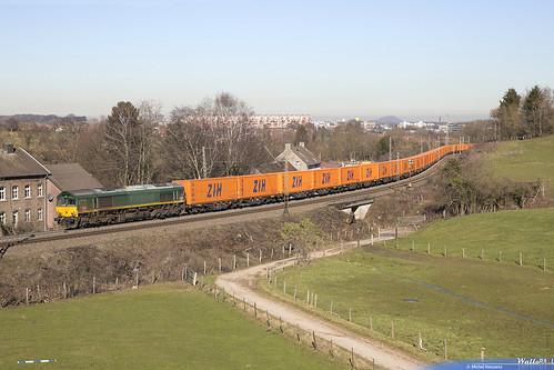 PB 14 Crossrail . Z 44588 - China Express - . Aachen . 15.02.19.