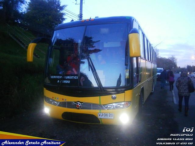 Particular: Marcopolo Andare Class 850 - Volksbus 17-210OD (VJ3620).
