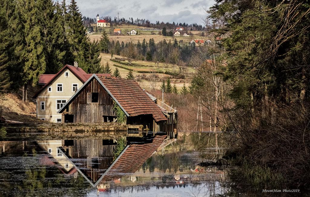 Čogrljevo jezero - krajem zime 2019.
