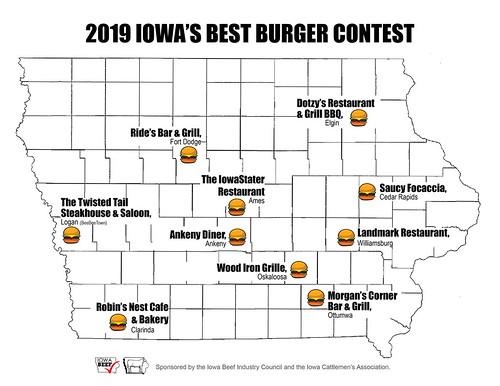 2019 Iowa's Best Burger