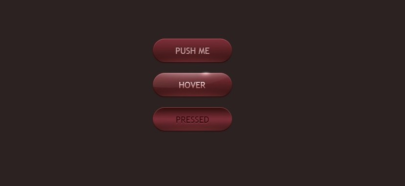 Кнопки для сайта - скачать исходник для Фотошоп