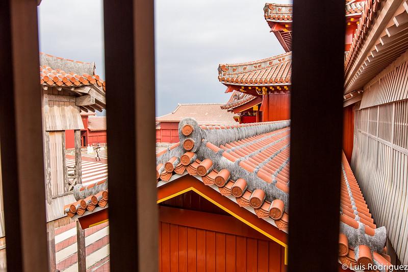 Vistas desde el edificio Kinju-Tsumesho