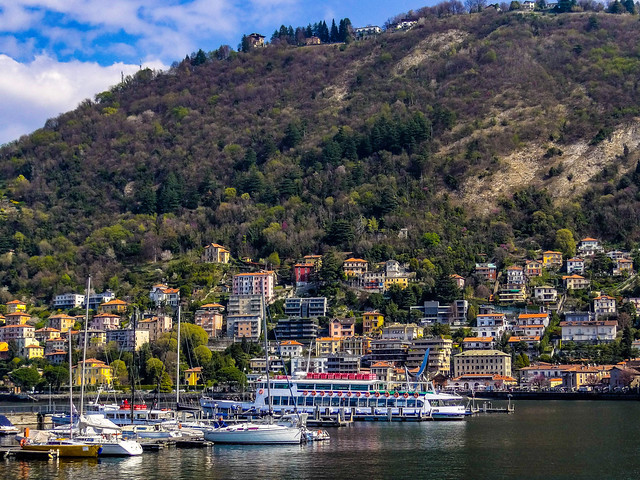 Lake Como in Italy where George Clooney and Amal Alamuddin have luxurious lakeside residence.