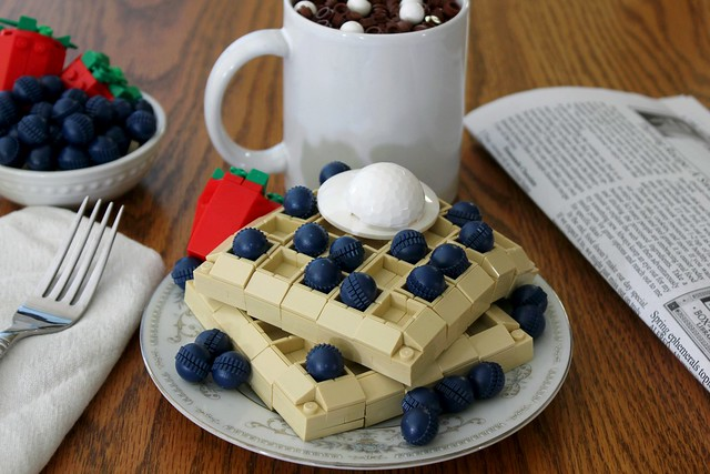 Berry Bliss Waffles