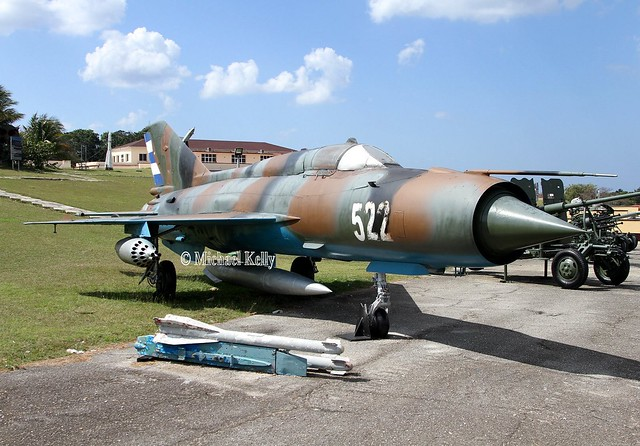 Cuba - Air Force                                       Mikoyan-Gurevich MiG-21 Fishbed                                          522