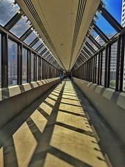 Skybridge to The Shops in Houston Center