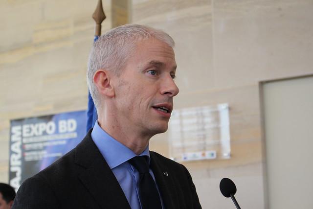 Franck Riester, Ministro da Cultura