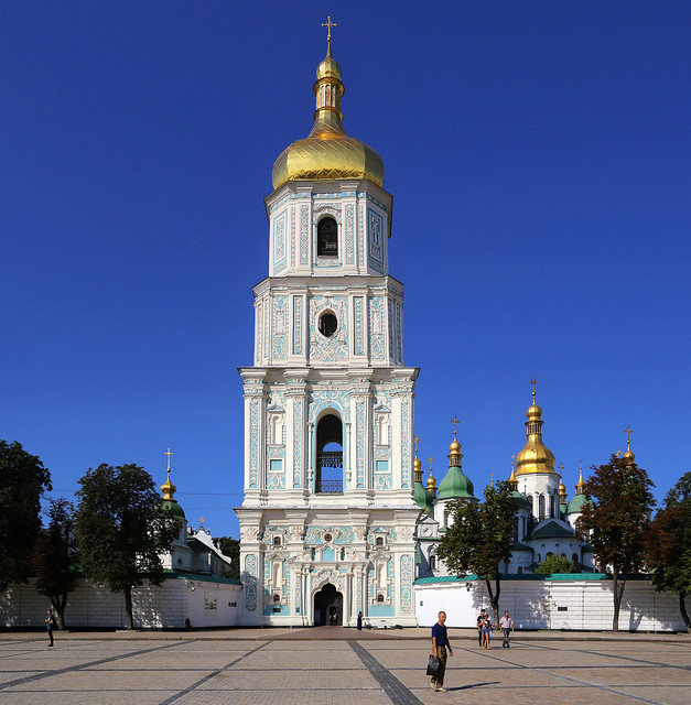 Saint Sophia's Cathedral one of the seven wonders of Ukraine