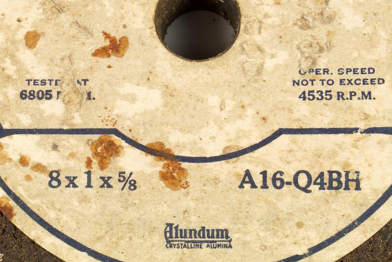 RD26948 2 NOS Vintage Norton Alundum Grinding Wheels A16-Q4BH DSC09921