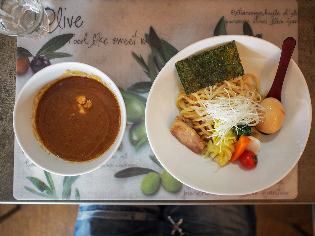 Japanese Curry Dipping Noodle (Curry Tsukemen)