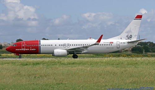 LN-NII LMML 08-04-2019 Norwegian Air Shuttle Boeing 737-8JP CN 43877 | by Burmarrad (Mark) Camenzuli Thank you for the 18.2