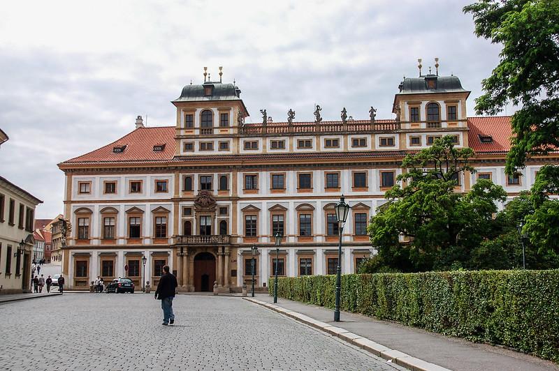 托斯卡納宮殿(Tuscan palace, Hradcany Square) 1