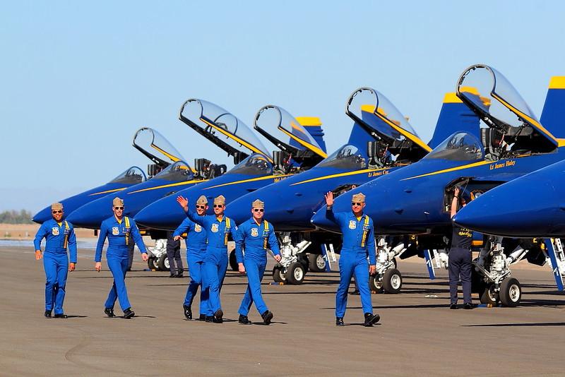 IMG_9905 Blue Angels Pilots, NAF El Centro Air Show