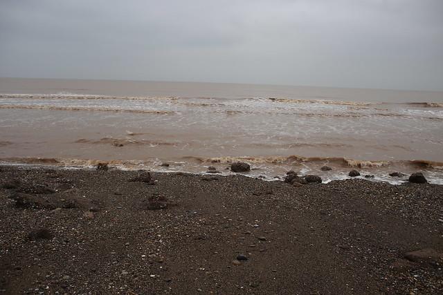 The beach near Out Newton