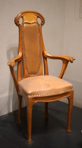 Pennsylvania 2018 - Philadelphia - Museum of Art - Guimard Chair 1912