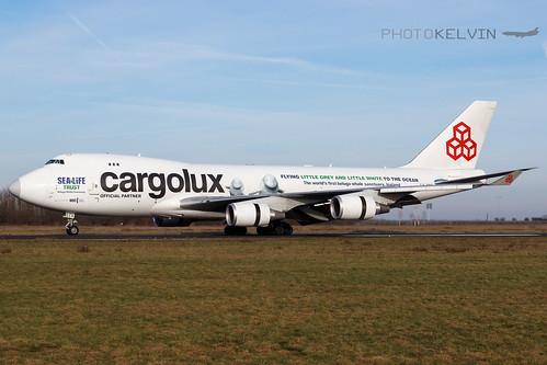 Boeing 747(F) - Cargolux International Airlines *Sea Life Livery 2019* - LX-ECV   by Kelvin Jahae