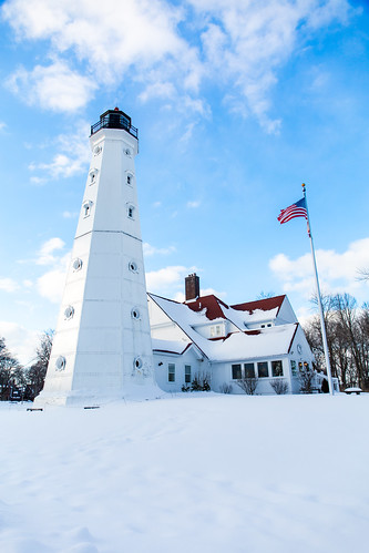 Snowy North Point Light 2 | by Vincent Buckley