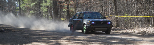 100aw 100 acre woods rally missouri race car tresspassers wil 1989 volkswagon jetta dingo team kevin forde cory grant 138 dust