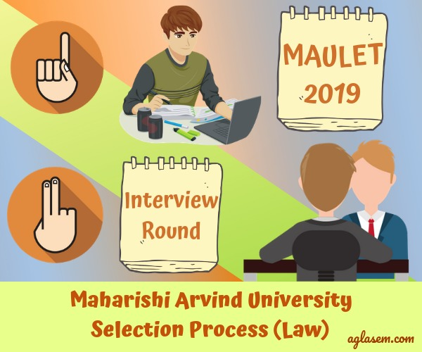 Maharishi Arvind University Law Entrance Test 2019