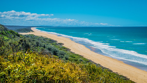 beach cloud sand seascape surf victoria australia au