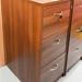 Walnut filing cabinet E135