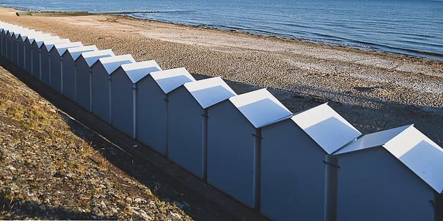 Beach huts, Cabourg