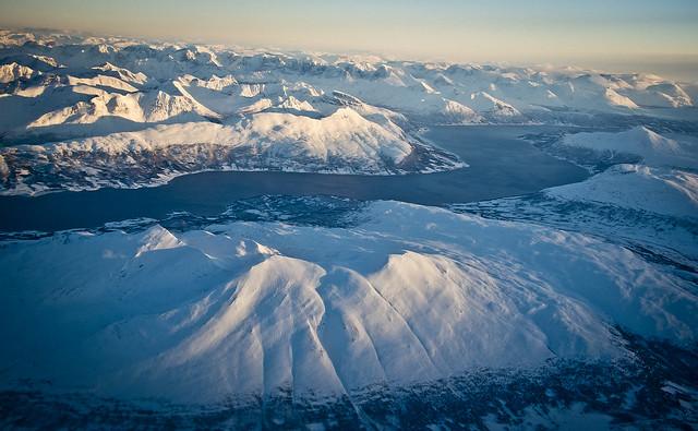 Per sobre del Balsfjorden / Over the fjords