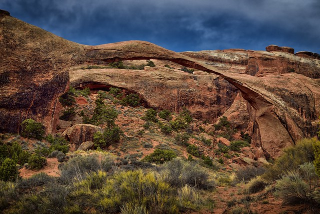 Good and Evil in the Garden of the Devil...And a Landscape Arch (Arches National Park)