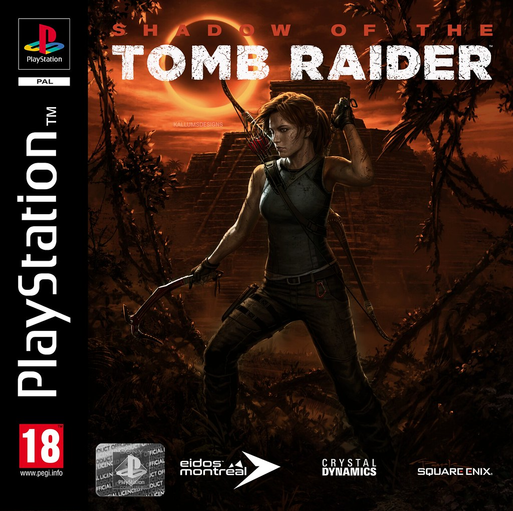 Shadow Of The Tomb Raider Ps1 Cover Kallumdsn Flickr