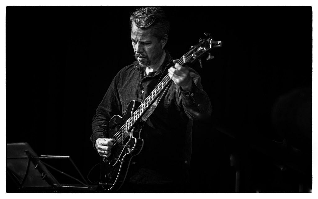 Kasper Vadsholt in the danish jazztrio