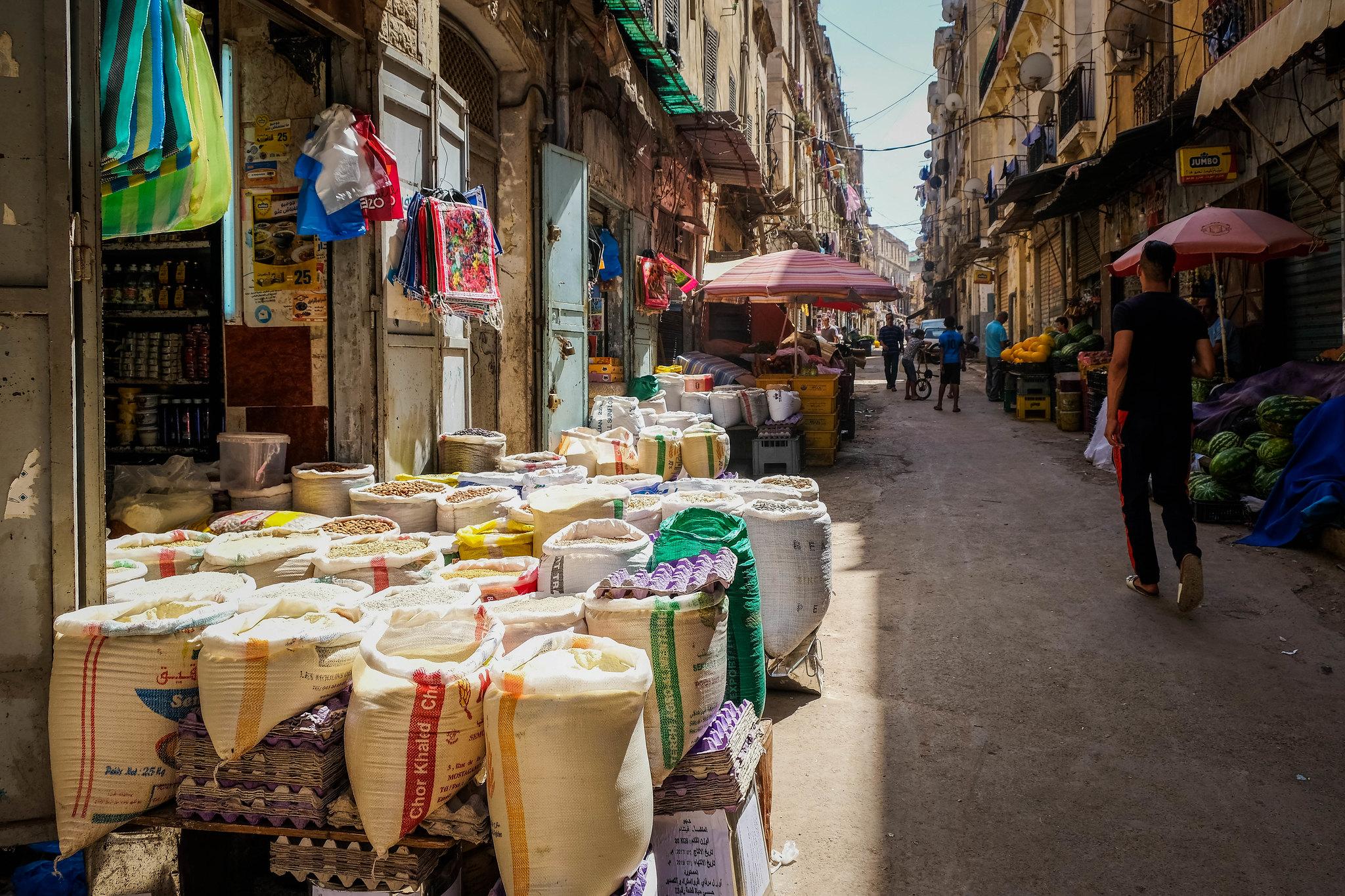 Market in Oran